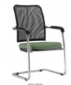 Cadeira Rigel SL Diretor Fixa Cromada