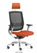 Cadeira Rigel FT Presidente Excêntrica NR17 Cromada