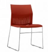 Cadeira Rigel CNT Coletiva Fixa Cromada