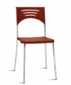 Cadeira Rigel BS Coletiva Fixa Cromada