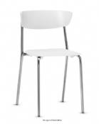 Cadeira Rigel BT Coletiva Fixa Cromada