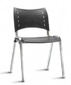 Cadeira Rigel IS Coletiva Fixa Cromada