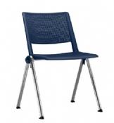 Cadeira Rigel Vega Coletiva Fixa Cromada